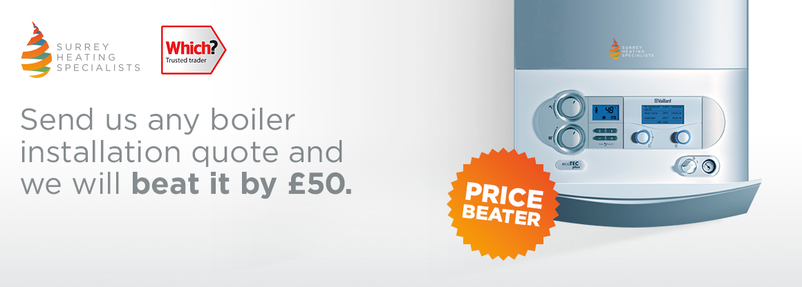 We Beat Any Boiler Installation Quote